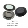 Round Cosmetic Compact CP-135