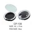 Round Cosmetic Compact CP-139