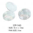 Round Cosmetic Compact CP-144