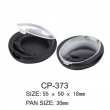 Round Cosmetic Compact CP-373