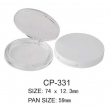 Round Cosmetic Compact CP-331