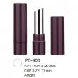 Plastic Airtight Lipstick Container