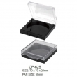 Empty Plastic Square Compact Case