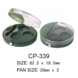 Round Cosmetic Compact CP-339