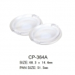 Round Cosmetic Compact CP-364A