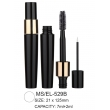 Dual Head Plastic Round Cosmetic Mascara/Eyeliner Container
