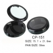 Round Cosmetic Compact CP-151