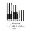 Airtight Round Plastic Lipstick Container