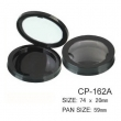 Round Cosmetic Compact CP-162A