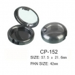 Round Cosmetic Compact CP-152