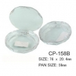 Round Cosmetic Compact CP-158B
