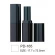 Square Black Lipstick Tube PD-165