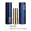 Empty Plastic Cosmetic Lipstick Case